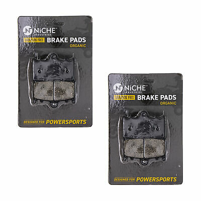 NICHE Brake Pad Set Suzuki Boulevard Intruder 69100-10850 Rear Organic 2 Pack