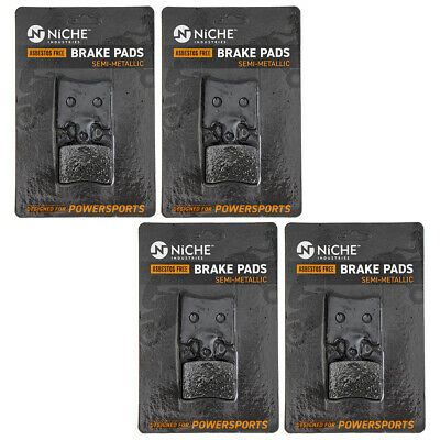 NICHE Brake Pad Set Suzuki Burgman AN400S 59301-14810 Front Semi-Metallic 4 Pack
