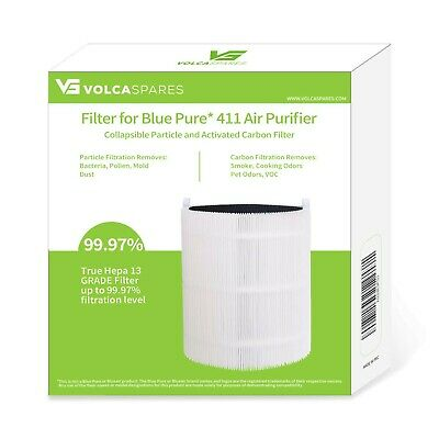 Volca Spares Replacement Filter for Blue Pure 411 Air Purifier