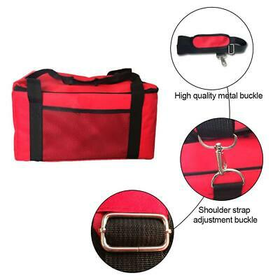 Pizza Cake Delivery Bag Picnic Package Red Insulated Thermal Holder 16 Inch
