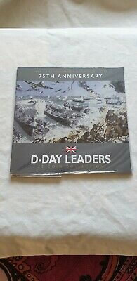 Isle Of Man 2019 £2  x 3 Coin Set BU D-Day Leaders 75th Anniversary Of D-Day