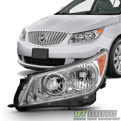 [Driver Side] For 2010 2011 2012 2013 Buick LaCrosse Halogen Headlight Headlamp