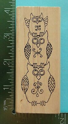 Inky Antics Mounted Rubber Stamp 2X2-How To Clean