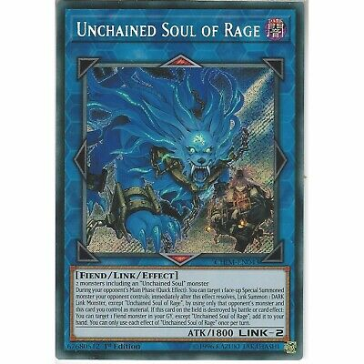 Unchained Soul of Rage - CHIM-EN043 Holo Foil CHAOS IMPACT 1st