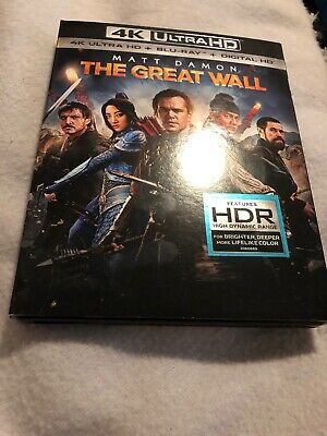 The Great Wall [Blu-ray]. No Digital Or 4k Disc