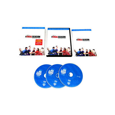 Factory Sealed THE BIG BANG THEORY: Complete Series Seasons 12 3disc DVD set
