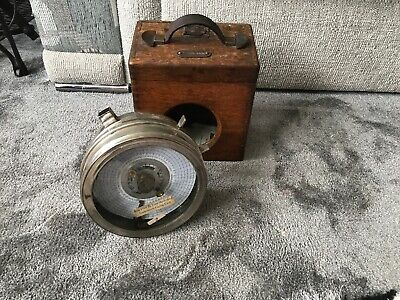 Vintage Pigeon Racing Clock With Its Box