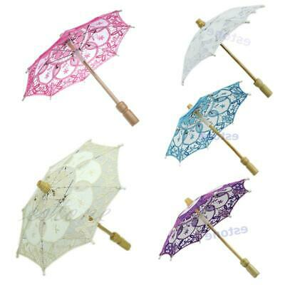 HOTsale Parasol Umbrella Embroidered Lace For Party Bridal Wedding Decoration