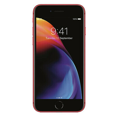 "Apple iPhone 8 256GB ""Factory Unlocked"" (PRODUCT)RED 4G LTE iOS Smartphone"
