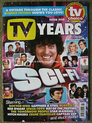TV Years Issue Five 5 Classic Sci-Fi Science Fiction Television Doctor Who Dwarf