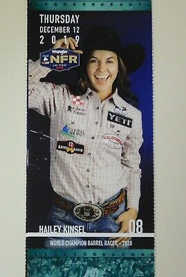 (1) National Finals Rodeo Single Ticket NFR Low Balcony Thur Dec12th 12/12/2019