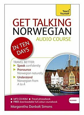 Get Talking Norwegian in Ten Days: A Teach Yourself Guide (CD-ROM) NEW