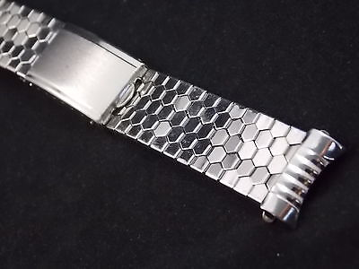 Best Quality Vintage Watch Band Bracelet Mens 18mm Stainles Expansion Deployment