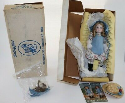 "Vintage - Jerri Mccloud - Jerris Dolls - "" The Milk Maiden"" - Porcelain Unused"