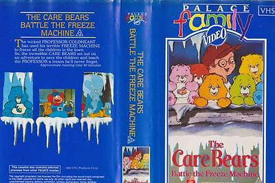The Care Bears Palace Family Video  Vhs Pal Video  A Rare Find