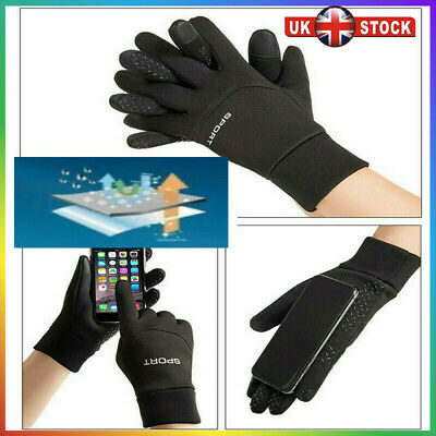 UK Football Gloves Boys Kids Thermal Waterproof Grip Outfield Field Player Sport