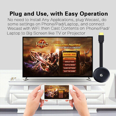 1080P HD WIFI HDMI Media Video TV Digital Streaming Mirroring Streamer Dongle