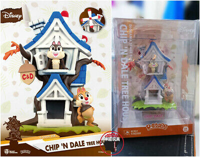 BEAST KINGDOM D-stage DS-028 Chip 'N Dale Tree House Figure DISNEY