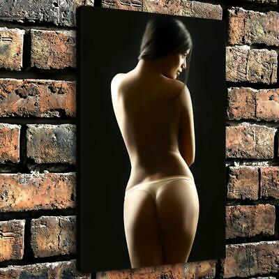 """12""""x18""""Nude Woman HD Canvas prints Painting Home Decor Picture Room Wall art"""