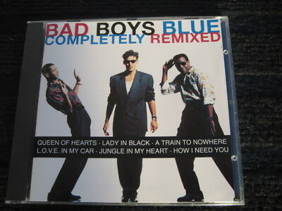 CD  BAD BOYS BLUE  Completetly Remixed  14 Tracks  Neuwertige CD  Remixes