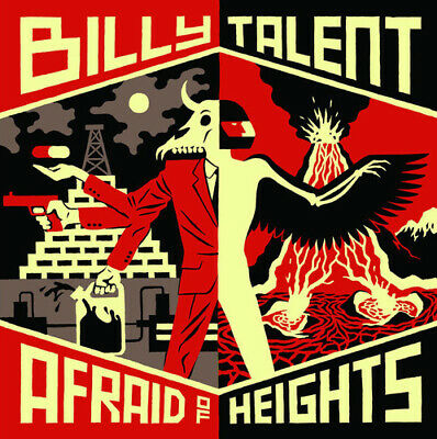 Billy Talent : Afraid of Heights CD Deluxe  Album 2 discs (2016) Amazing Value