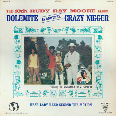 The 10th Rudy Ray Moore Album - Dolemite Is Another Crazy N*gger (vinyl) sealed