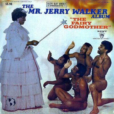 Rudy Ray Moore Presents Mr. Jerry Walker - The Fairy Godmother (vinyl) NEW LP