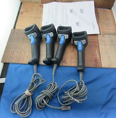 DataLogic QuickScan L 2330 USB Barcode Scanners Set of 4 Missing 1 USB Cable