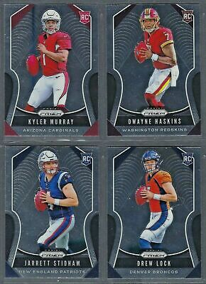 2019 Panini Prizm Football ROOKIES RC #301-400 Complete Your Set! FLAT RATE SHIP
