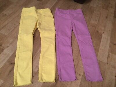 2 Pairs H@m Girls Trousers 5-6 Years
