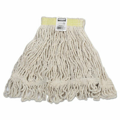 Rubbermaid Commercial Super Stitch Blend Mops, Cotton Synthetic Small D21106WH00