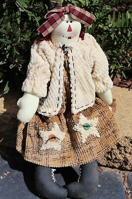 AIMEE  -  Country Girl Cloth Hanging Doll