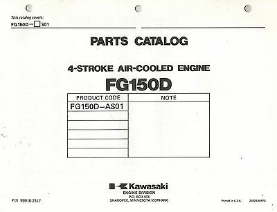 Kawasaki  Fg150D  Air Cooled  Engines  Parts  Manual