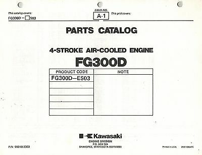 Kawasaki  Fg300D Air Cooled  Engines  Parts  Manual 03