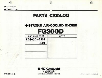 Kawasaki  Fg300D Air Cooled  Engines  Parts  Manual 01