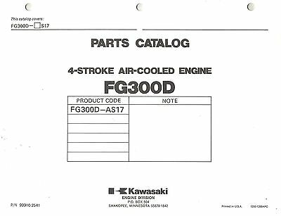 Kawasaki  Fg300D Air Cooled  Engines  Parts  Manual 17