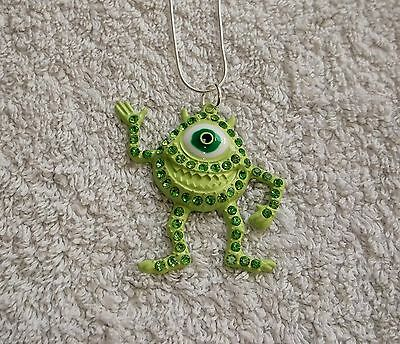 Unwanted MONSTERS INC MOVIE Inspired MIKE WAZOWSKI Large Charm Gift NECKLACE