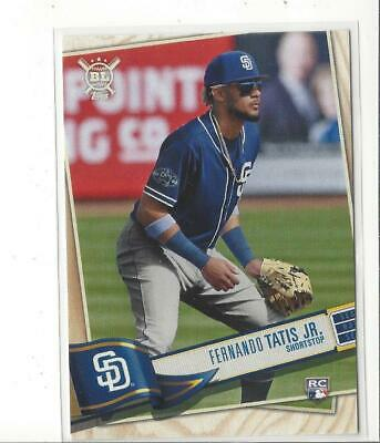 2019 Topps Big League #6B Fernando Tatis Jr. RC Rookie Padres SP!