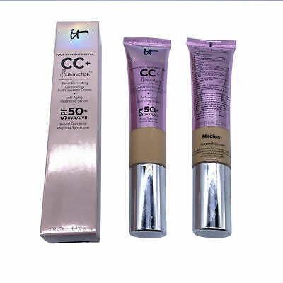 NEW Authentic It Cosmetics YSBB CC+ Cream Illumination with SPF 50+(Medium)