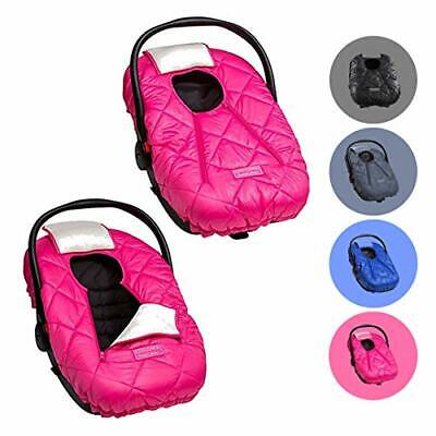 Cozy Cover Premium Infant Car Seat Cover (Pink) with Polar Fleece - The (Pink)