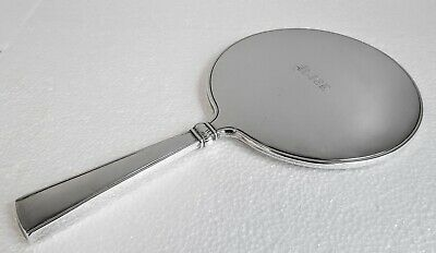 "Fine Solid Silver Hand Mirror ""Alice"" Monogram Thorvald Marthinsen - Norway"