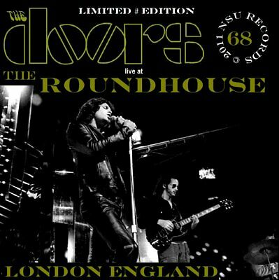 THE DOORS   LIVE AT THE LONDON ROUNDHOUSE  1968  SEPTEMBER 6th    LIMITED # 2 CD