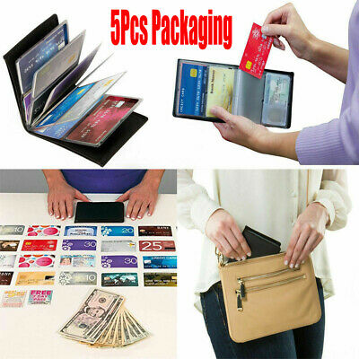 5Pcs NEW Wonder Leather Wallet Amazing Slim RFID Wallets As Seen on TV 2019 Hot