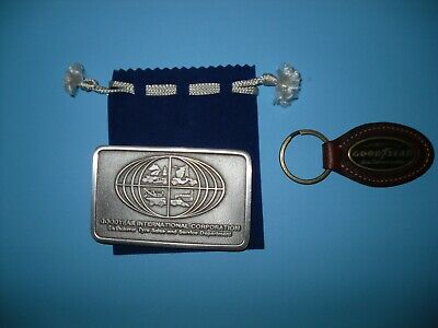 Goodyear Tyres Keyring & Belt Buckle Collectables.