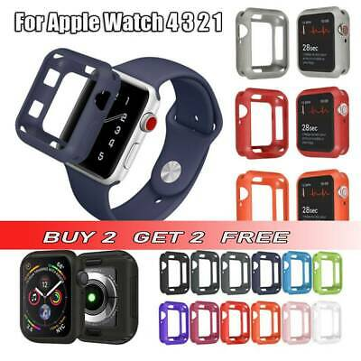 Hot Watch Cover TPU Silicone Protective Case for iWatch Apple Watch 4 3 2 1 uk
