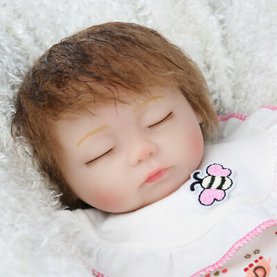 "16"" Reborn Baby Dolls Newborn Girl Real Life Toddler Doll Handmade Realistic Toy"