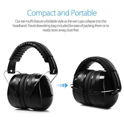 Shooters Hearing Protection Ear Muffs Noise Reduction Safety Ear Muffs SNR 35dB