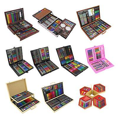 Childrens/Adults Professional Artists Art Sets Creative Studio Colouring Crafts