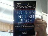 The New Fowler\s Modern English Usage, R. Burchfield, Used; Good Book