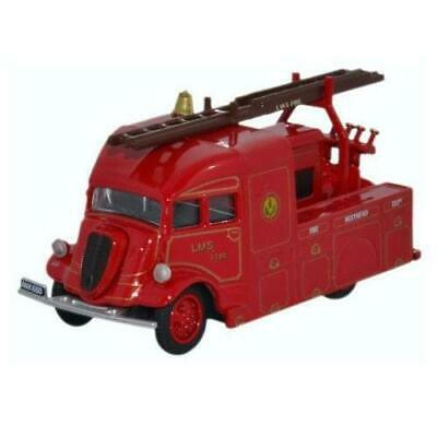 BNIB OO GAUGE OXFORD DIECAST 1:76 76AM001 LONDON FIRE BRIGADE AEC MERCURY TL